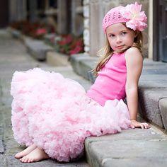Pink Pettiskirt @PoshTots