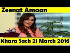 Khara Sach With Mubashir Lucman 21 March 2016