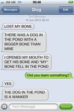This is reminiscent of the many arguments my Shepherd has with the dog in the mirror. Good one!