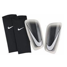 Protective Gear 20864: Nike Mercurial Lite 2015 - 2016 Shin Guard Slip Shield Brand New Black / White BUY IT NOW ONLY: $36.99