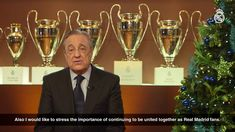 Video Real Madrid president Florentino Pérezs New Year message