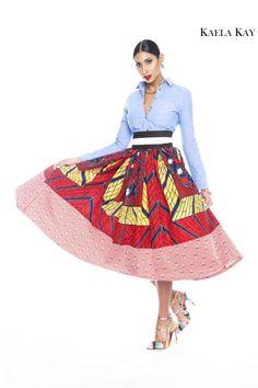 Styliste Ghanéenne, Catherine Addai for KAELA KAY DESIGN