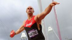 Robert Harting achieve 68,27m in the Discus Final