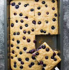 No Flipping Meal Prep Protein Pancakes (Sheet Pan) | Sweet Peas and Saffron
