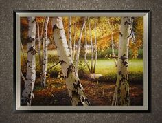 Original oil painting, hand painted landscape oil painting, custom decorative wall art painting/oil portrait on canvas