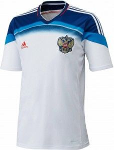 11ccce1d6 Russia 2014 World Cup Kits Released - Footy Headlines. kaos jersey original