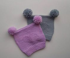 Ravelry: Mia lue/ mia hat pattern by Kairi Aksnes Baby Hats Knitting, Knitting For Kids, Knitted Hats, Crochet Baby, Knit Crochet, Crotchet, Baby Shower Themes Neutral, Baby Barn, Baby Bonnets