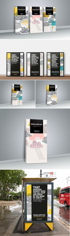 Erase & Replace Student Concept Packaging Design - erase and replace that awkward moment in your life with chocolate