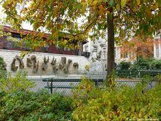 fontaine, place Lucien Herr, 5éme