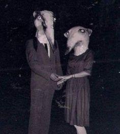 Bizarre vintage Halloween costumes - http://www.cultofweird.com/blog/vintage-halloween-costumes/