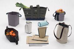 Sac+, una colección de piezas que exploran la sostenibilidad del objeto y la función sin romper su eficiencia. De Thibaut Guittet