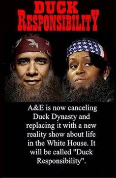 ....Duck Responsibility, LOL.....