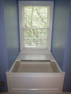 Dormer window seat by KEITZ CONSTRUCTION, via Flickr