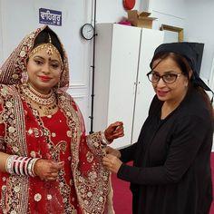 Weekdays wedding at Gurudwara Mata Sahib Kaur Glen rock long island Punjbi wedding Congratulations Manjit for her new start in life  Wishing the couple e very happy married life #makeupartist #indianbrides #indianmakeupartists #punjabibrides #punjabimakeupartist #nycmakeupartist #nycmakeupartists #njmakeupartists #punjaban#gurudwara wedding #sikhweddings #indian brides #northindianbrides #indianweddings #wedmegood #draping #indian draping #duppatta setting by looksbyjassi