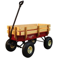 Classic Flyer by Kettler All Terrain Air Tire Metal Wagon