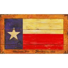 I pinned this Texas Flag Sign from the Red Horse Signs event at Joss & Main!
