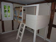Kinderbett baumhaus selber bauen  Stelzenhaus | Kinderzimmer | Pinterest | Stelzenhaus, Kinderbetten ...