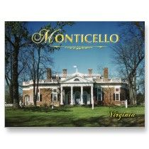 Monticello  Jefferson's home