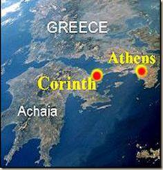 ubicación geográfica de Corinto