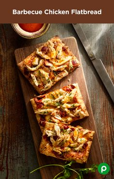 Think chicken is boring? Not tonight. The Barbeque Chicken Flatbread recipe from Publix Aprons will entice the whole family. The bread may be flat, but the taste is anything but.