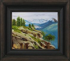 """Rocks and Trees, Yosemite"""