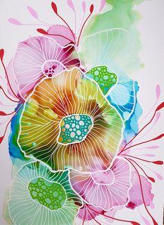 Mini Coral 2 Coral Painting Original Art Colourful Art