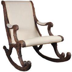 German Rocking Chair 19th Century