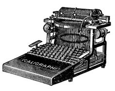 http://thegraphicsfairy.com/vintage-clip-art-3-antique-typewriter-graphics/