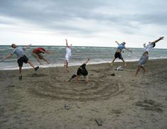 If I go to the beach this summer with my youth group, we ARE doing this!