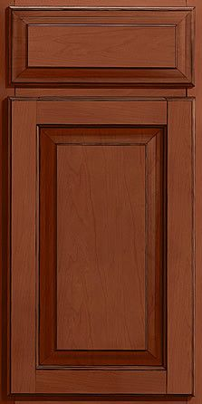 Merillat Masterpiece Cabinetry-Townley Square Maple Chestnut With Onyx Glaze from waybuild