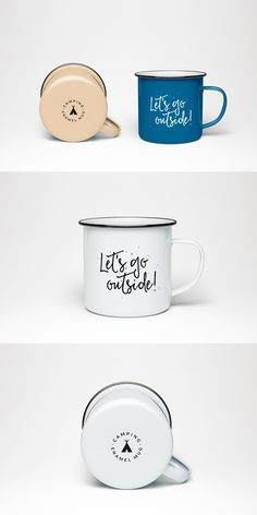 Showcase your design in a photorealistic manner with this simple and unique Enamel Mug PSD MockUp Free Download. You can change the color of the mug or the background according to your liking with ease thanks to the smart objects included.