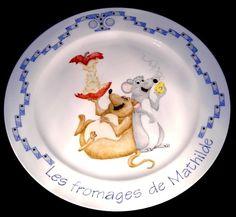 Mathilde's Cheese Platter by Jean Colbear