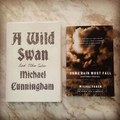 When you find an author you love do you head straight for their short story collection? Pictured: Michael Cunningham's A Wild Swan And Other Tales; Michel Faber's Some Rain Must Fall And Other Stories #yukoshimizu #beast #slimjims #wizardry #basement #magicbeans #talisman #mythic #fairytales #reimagined #dark #perverse #eerie #vivid #satirical #humane #fish #vertigo #hell #tunnel #sheep #monkey #poisoned