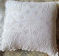 Crochet Bedspread Pattern, Crotchet Patterns, Crochet Lace Edging, Crochet Squares, Crochet Doilies, Crochet Pillow Cases, Crochet Cushions, Crochet Tablecloth, Filet Crochet Charts
