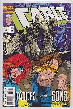 Cable #7 Marvel Comics 1993 Vol. 1 series Deadpool Movie X-men Bishop