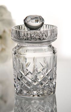 Silver /& Crystal Cross Cut TUMBLER BROADWAY /& Co 4/""