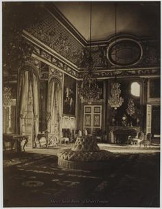 Versailles interior, taken during a visit from Queen Victoria in 1857.
