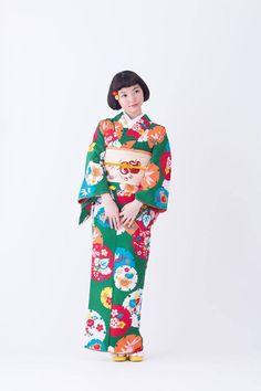 Colourful Kimono着物