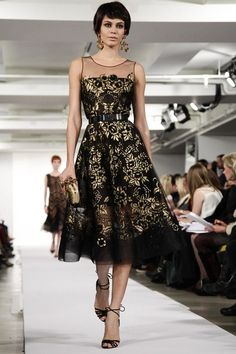 Oscar de La Renta Ready To Wear Fall Winter 2014 New York