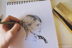 A Craftsy blog post - Learn to Sketching Better Portraits With Just 3 Simple Tips!