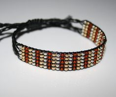 Material, Beaded Bracelets, Jewelry, Fashion, Arts And Crafts, Weaving, Armband, Cotton, Creative