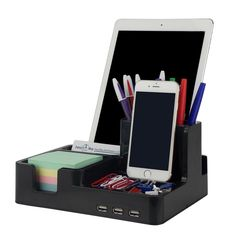 Smart Desk Organizer (Black Color) Black #Easy2BuyDistributorsLLC