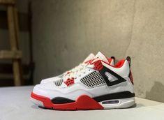 Retro Jordan Shoes, Air Jordan Retro, Jordan Shoes Girls, Air Jordan Sneakers, Nike Air Shoes, Air Jordan 3, Jordans Sneakers, Red Retro Jordans, Red And White Jordans