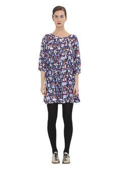 Moomin by Ivana Helsinki Spring Fashion, Autumn Fashion, Moomin, Helsinki, Dress Collection, Fall Winter, Spring Summer, Tunic Tops, Summer Dresses