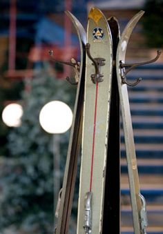 ski coat rack. Want