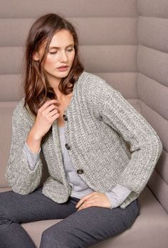 Lana Grossa JACKE Lala Berlin Softness - Design Special No. 4 - Modell 19 | FILATI.cc WebShop