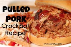 PIN THIS NOW!  Must try Pulled Pork Crockpot Recipes