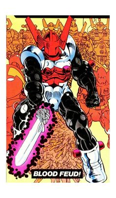 Acroyear mightiest member of the Micronauts.