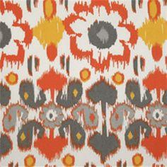 Rio Citrus Floral Ikat Indoor/Outdoor Print by Premier Prints - 32094 - Buy Fabrics - Buy Discount Designer Fabrics | BuyFabrics.com