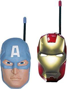 Mamma :Marvel Avengers Walkie Talkie